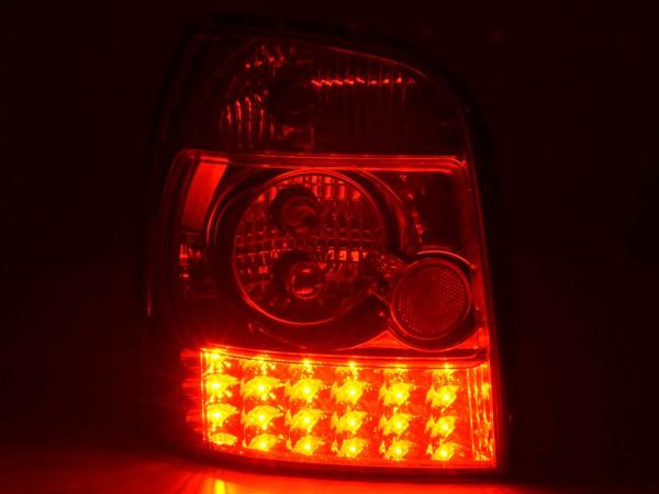 LED Rückleuchten Set Audi A4 Avant Typ B5 Bj. 95-00 chrom