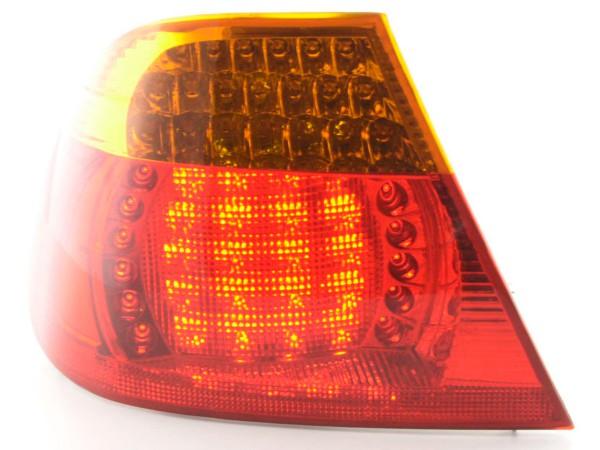 Verschleißteile Rückleuchte links BMW 3er Coupe Typ E46 Bj. 03-06, gelb/rot