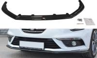 Front Ansatz Passend Für V.1 Renault Megane Mk4 Hatchback Schwarz Hochglanz