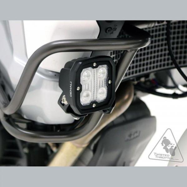 Denali Zusatzscheinwerferhalterung für Sturzbügel (22mm-28mm Durchmesser)