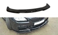 Front Ansatz Passend Für BMW 6er Gran Coupé M Paket Schwarz Hochglanz