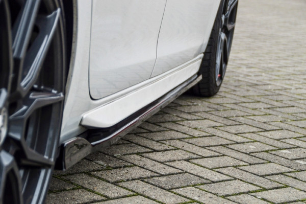 Cup Seitenschweller mit Wing für Peugeot 308 GT+GT-Line Facelift SW kombi