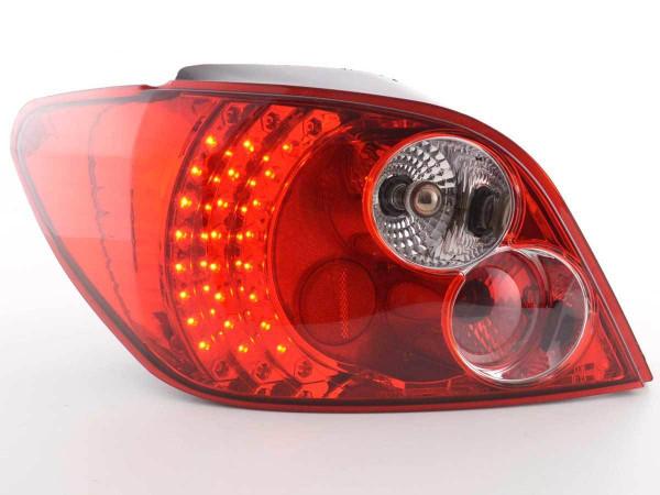 LED Rückleuchten Set Peugeot 307 Schrägheck 01-04 klar/rot