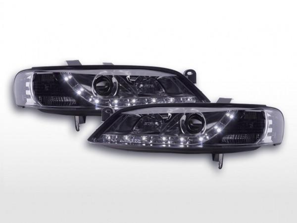 Scheinwerfer Set Daylight LED TFL-Optik Opel Vectra B 96-99 chrom