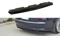 Mittlerer Diffusor Heck Ansatz Passend Für Audi A8 W12 D3 Schwarz Matt