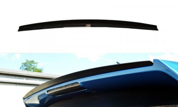 Spoiler CAP Passend Für Subaru Impreza WRX STI 2009-2011 Schwarz Matt