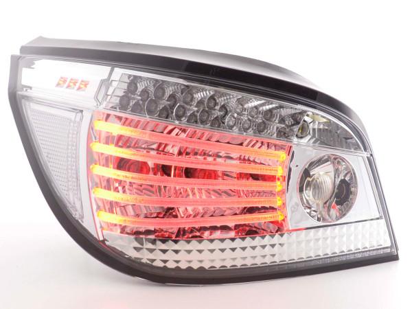 LED Rückleuchten Set BMW 5er Limousine Typ E60 03- chrom