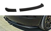 Hinten Splitter Skoda Fabia RS Mk1 Schwarz Hochglanz