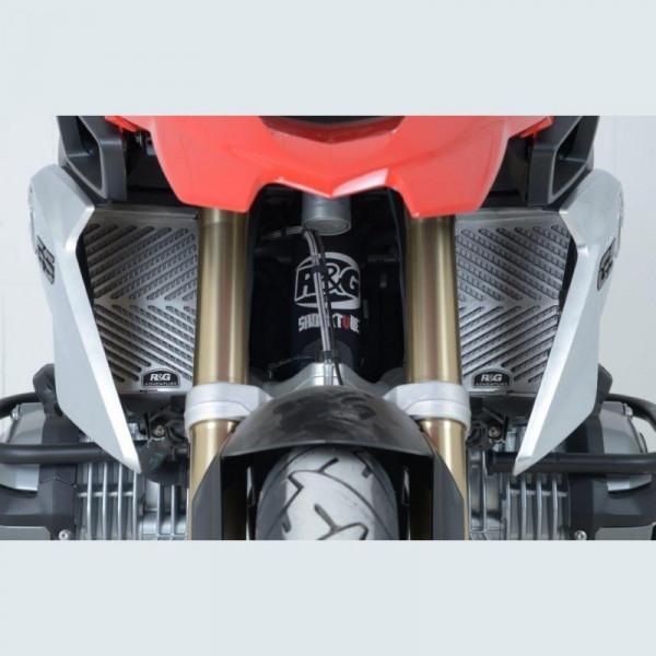 R&G Kühlergitter Set Edelstahl BMW R 1200 GS 2013- / R 1250 GS 2018- / R 1250 RT 2019-