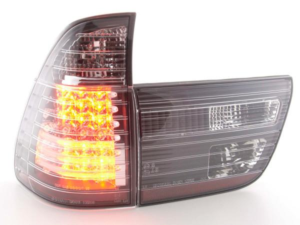 LED Rückleuchten Set BMW X5 Typ E53 98-02 schwarz