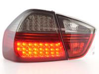 LED Rückleuchten Set BMW 3er Limousine Typ E90 05-08 schwarz/rot