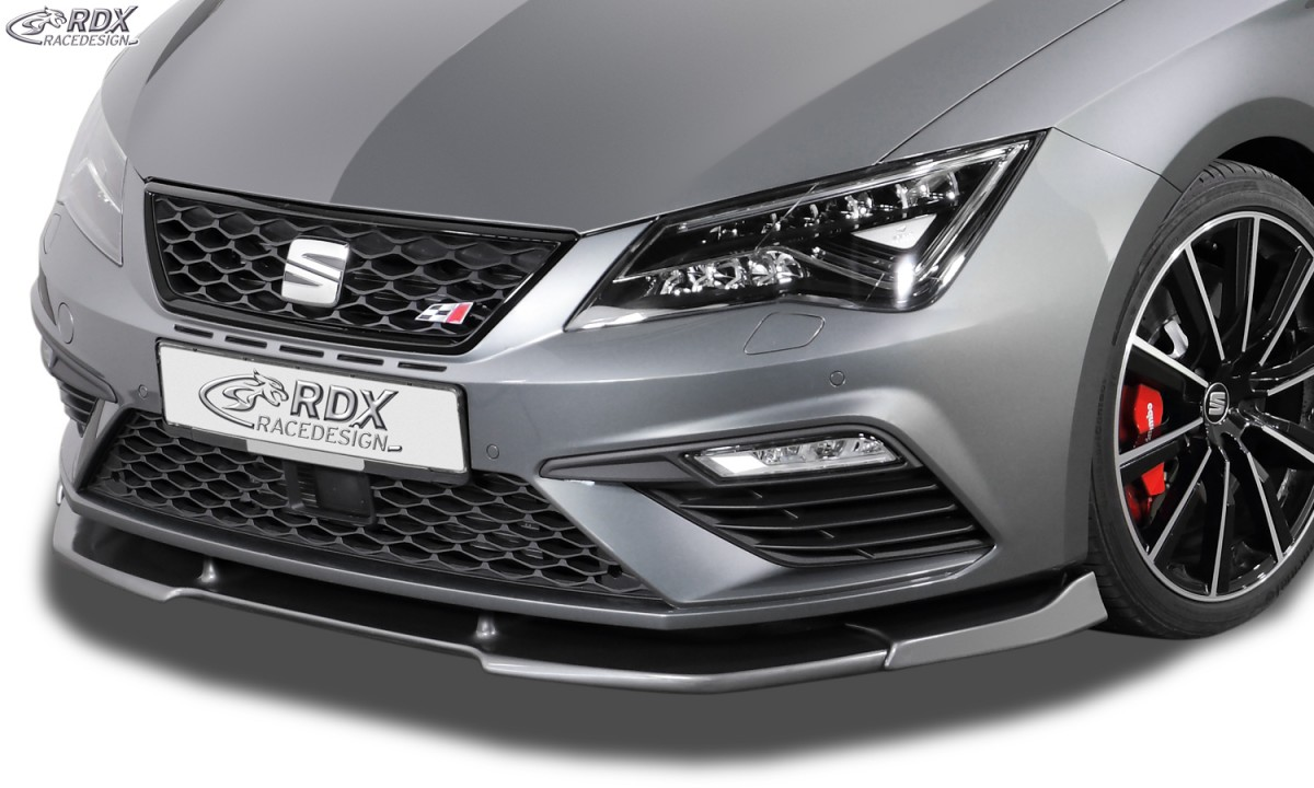 rdx frontspoiler vario x seat leon 5f fr cupra cupra. Black Bedroom Furniture Sets. Home Design Ideas