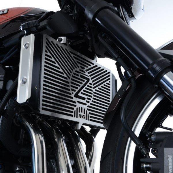 R&G Kühlergitter Wasserkühler Edelstahl Kawasaki Z 900 RS 2018-