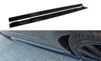 Seitenschweller Ansatz Passend Für MAZDA 3 MPS MK1 (vor Facelift) Schwarz Matt