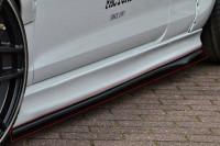 Cup2 Seitenschweller für Renault Megane 4 RS Facelift Ausführung: Matt schwarz