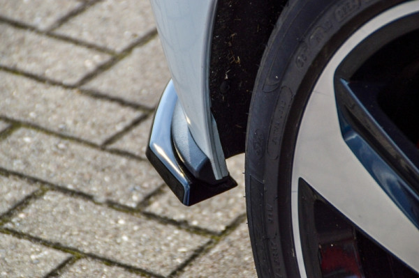 Heckansatz 2 tlg. für VW Polo 6 GTI 2G (AW) Diffusor