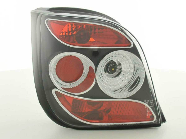 Rückleuchten Set Ford Fiesta 3-trg. Typ MK3 92-95 schwarz