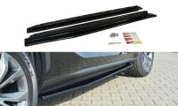 Seitenschweller Ansatz Passend Für Lexus NX Preface/Facelift Schwarz Hochglanz
