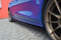 CUP3 Seitenschweller für Ford Focus DEH ST-Line Bj. 2018- Ausführung: Matt schwarz
