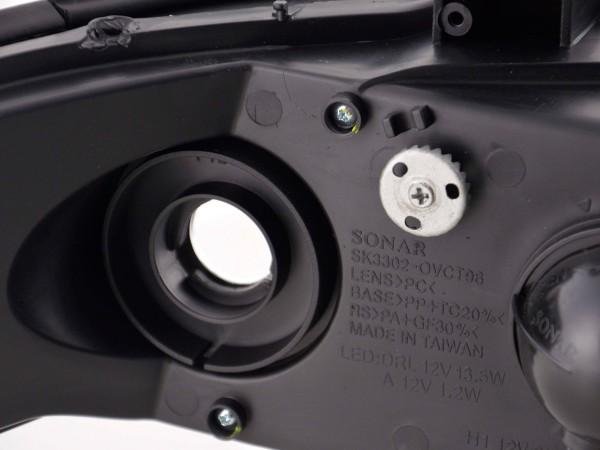 Scheinwerfer Set Opel Vectra B Bj: 99-02 chrom