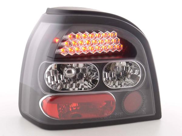 LED Rückleuchten Set VW Golf 3 Typ 1HXO 92-97 schwarz