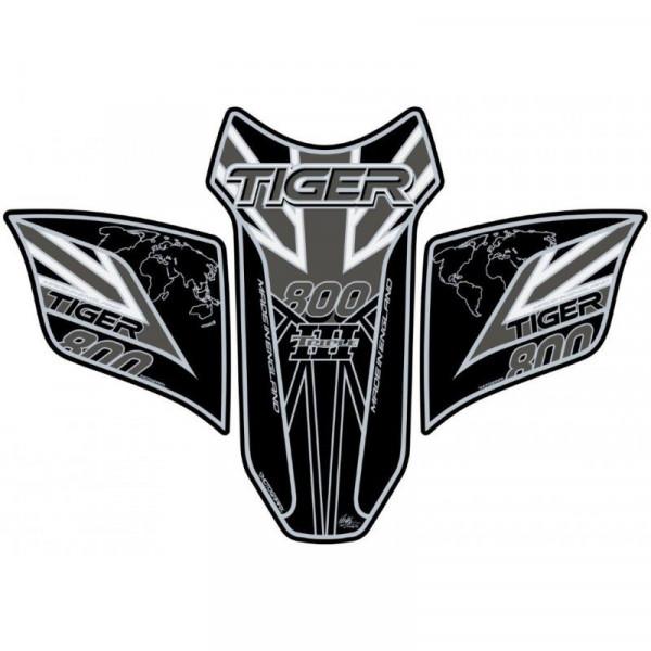 Motografix Triumph Tiger 800 3D Gel Tank Pad Protector TT031KEUJ