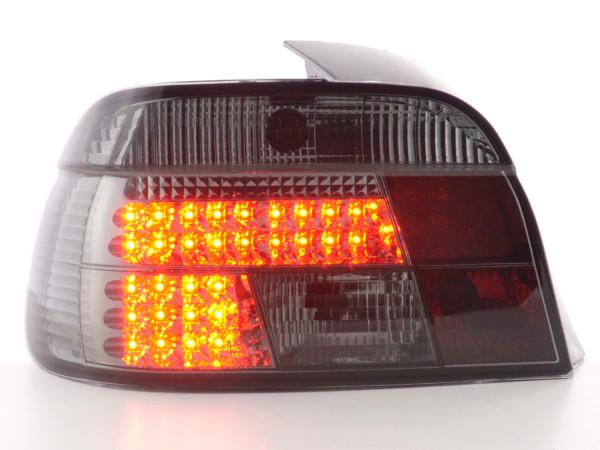 LED Rückleuchten Set BMW 5er Limousine Typ E39 95-00 schwarz
