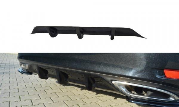 Diffusor Heck Ansatz Passend Für Lexus GS Mk4 Facelift T Schwarz Hochglanz