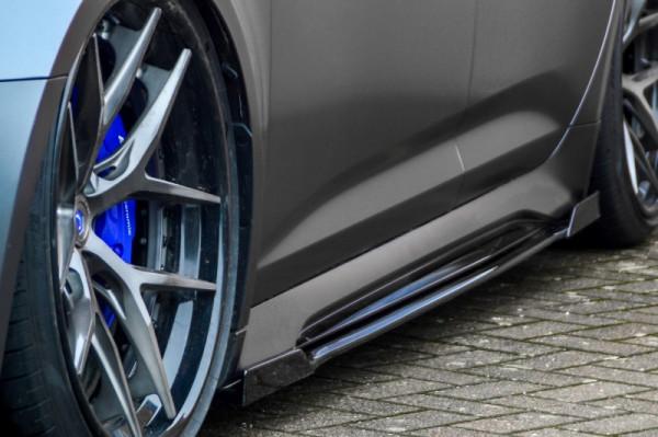 Seitenschweller mit Wing vorne und hinten für Audi RS6 C8 Bj .ab.2019-