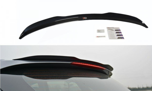 Spoiler CAP Passend Für Hyundai I30 Mk.2 Carbon Look