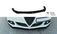 Front Ansatz Passend Für V.1 Alfa Romeo Giulietta Schwarz Matt