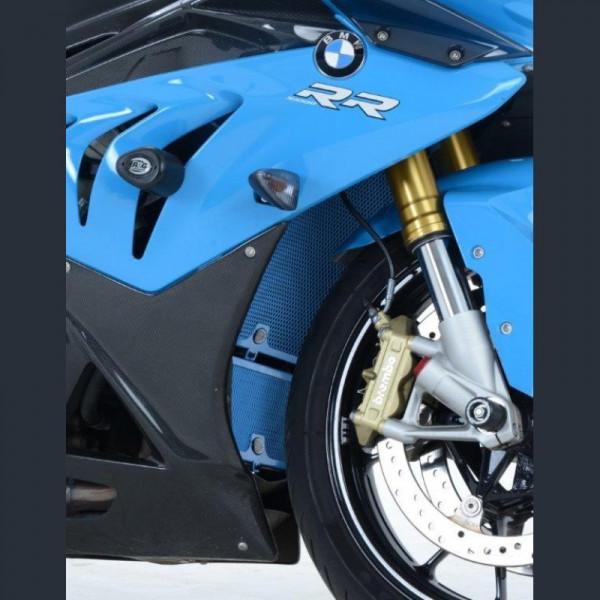 R&G Kühlergitter Blue Wasserkühler BMW S 1000 RR / HP 4