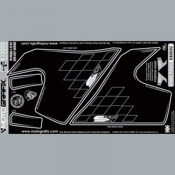 Motografix Tankschutz Knie Pads BMW K 1300S 2009- KB003U