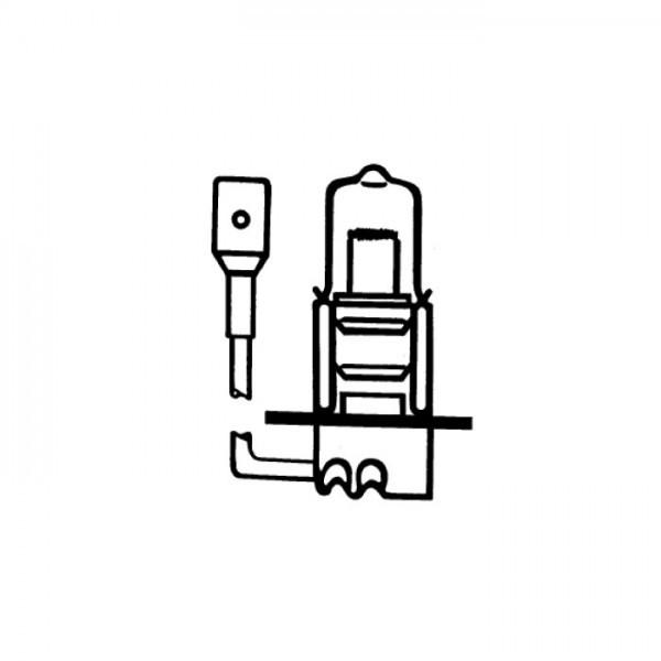 Hauptscheinwerferlampe | 12V55W | H3 | Pk22s Ø=11x42 mm | E-geprüft