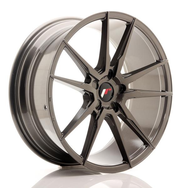 JR Wheels JR21 20x8,5 ET20-40 5H Blank Red