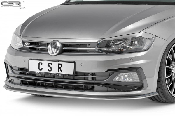 Cup-Spoilerlippe aus Fiberflex für VW Polo VI 2G GTI / R-Line CSL321