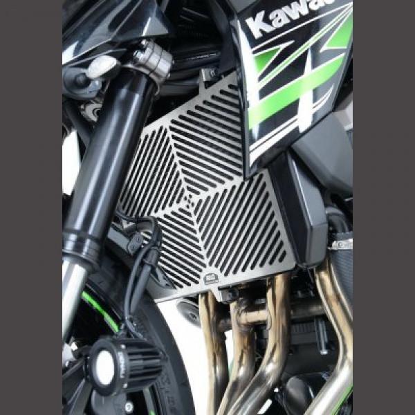 R&G Kühlergitter Wasserkühler Edelstahl Kawasaki Versys 1000