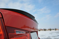 Spoiler CAP Passend Für BMW 3er F30 Schwarz Matt