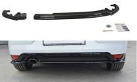 Heck Ansatz Flaps Diffusor Passend Für Renault Megane Mk4 Hatchback Carbon Look