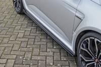 Cup Seitenschweller für Renault Megane 4 RS Facelift Ausführung: Matt schwarz