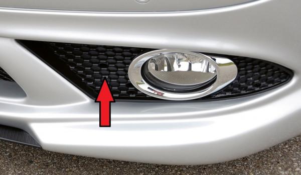 Gitter links orig. SL (R230) für Mercedes CLK (W209) Coupé 00.02-06.04 (bis Facelift / bis Modell 20