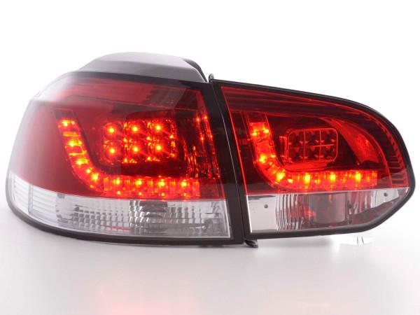 LED Rückleuchten Set VW Golf 6 Typ 1K 2008-2012 klar/rot