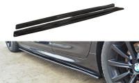 Seitenschweller Ansatz Passend Für BMW 6er Gran Coupé M Paket Carbon Look