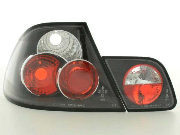 Rückleuchten Set BMW 3er Coupe Typ E46 97-02 schwarz