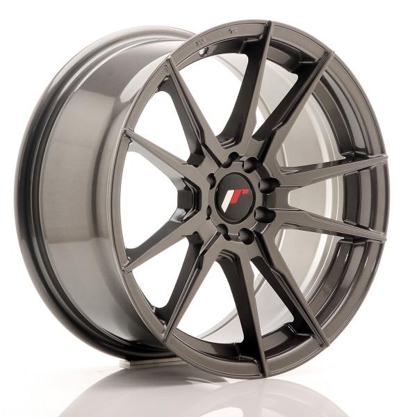 JR Wheels JR21 17x8 ET25 4x100/108 Red