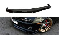 Front Ansatz Passend Für Chevrolet Camaro 5 SS Schwarz Matt