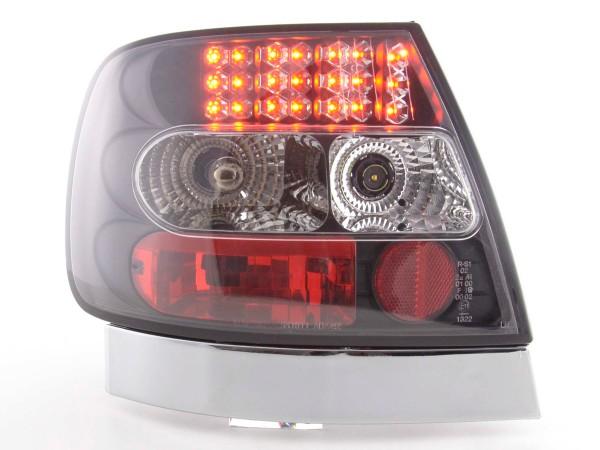 LED Rückleuchten Set Audi A4 Limousine Typ B5 Bj. 95-00 schwarz