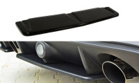 Mittlerer Diffusor Heck Ansatz Passend Für Ford Focus RS Mk3 Schwarz Hochglanz