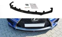 Front Ansatz Passend Für V.1 Lexus RC F Schwarz Matt
