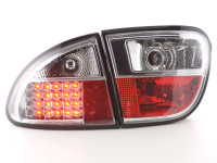 LED Rückleuchten Set Seat Leon Typ 1M 1999-2005 chrom